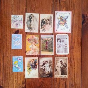 Beautiful Vintage Postcards Bundle
